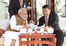 Modi visits China