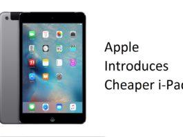 Apple Cheaper i-Pad